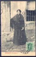 ZARAGOZA , Nº 1198 , FOTOTIPIA THOMAS , UNA BATURRA , MEMBRETE DE EL PRÍNCIPE EUGENE LASCARIS  , CIRCULADA A BERLIN - Zaragoza