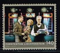 Liechtenstein 2013, Michel# 1687 O     Performing Arts In Liechtenstein - Theater - Gebraucht