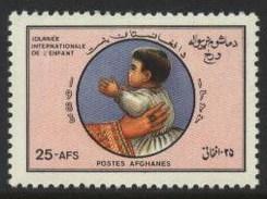1983 Afghanistan International Children Day, Hands Holding Child (1v) MNH (M-382)