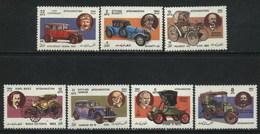 1984 Afghanistan Classic Motor Cars, Transport (7v) MNH (M-383)