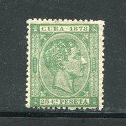 CUBA- Y&t N°25- Neuf Avec Charnière * - Cuba (1874-1898)