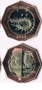 Saint Eustatius 10 Dollars( Bimetal)  2013 - Antilles Neérlandaises