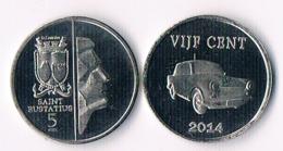 Saint Eustatius 5 Cents  2014 - Antilles Neérlandaises