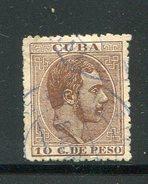 CUBA- Y&T N°69- Oblitéré - Cuba (1874-1898)