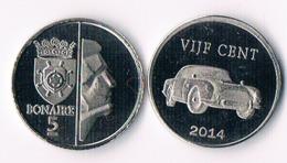 Bonaire 5 Cents  2014 - Antillen (Niederländische)