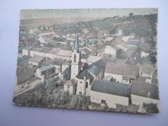CPSM 57 -  EN AVION AU-DESSUS DE SENTZICH - Thionville