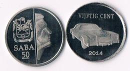 Saba 50 Cents  2014 - Antilles Neérlandaises