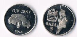 Saba 5 Cents  2014 - Netherland Antilles