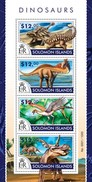 SOLOMON ISLANDS 2015 SHEET DINOSAURS DINOSAURES DINOSAURIERN DINOSAURIOS DINOSSAUROS DINOSAURI Slm15304a - Isole Salomone (1978-...)