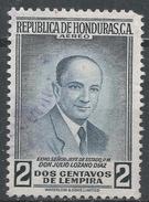 Honduras 1956. Scott #C251 (U) President Julio Lozano Diaz * - Honduras