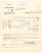 Avertissement Extrait Des Rôles De La Commune De Court-Saint-Etienne En 1900  PR4471 - Belgique