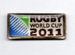 Rugby, RUGBY WORLD CUP 2011, Pin (025) - Rugby
