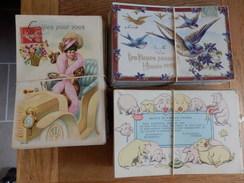 Lot De 645 Cartes Fantaisie, Fétes, Amour, Fleurs .... - Cartes Postales