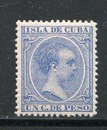 CUBA- Y&T N°85- Neuf Avec Charnière * - Cuba (1874-1898)