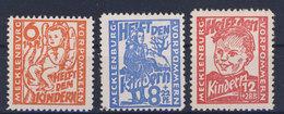 Mecklenburg Vorpommern Michel No. 26 - 28 ** Postfrisch MNH - Zone Soviétique
