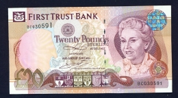 NORTHERN IRELAND  -  1/6/09  First Trust Bank  £20  Circulated  Clean With No Major Folds Or Creases - [ 2] Ireland-Northern