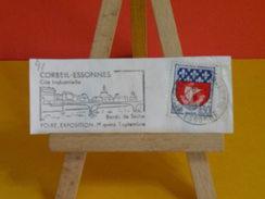 Marcophilie > Flamme > 91 Essonne > Corbeil Essonnes > Foire Exposition, Bord De Seine - 1967 - Marcophilie (Lettres)
