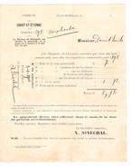 Avertissement Extrait Des Rôles De La Commune De Court-Saint-Etienne En 1898 PR4473 - Belgium