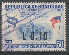 Honduras 1964. Scott #C318 (U) Birth Sesquicentennial Of Abraham Lincoln - Honduras
