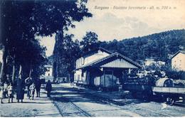 GS1 SORGONO - NUORO STAZIONE FERROVIARIA - FP VIAGGIATA 7.8.1934 - PERFETTA - Nuoro
