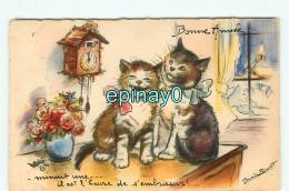 B - ILLUSTRATEUR - Germaine BOURET - PRIX FIXE - CHATS - CAT - KAT - KATZE - GATO - édition M D - Bouret, Germaine