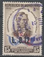 Honduras 1964. Scott #C348 (U) Birth Sesquicentennial Of Abraham Lincoln - Honduras