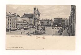 AK Linz A.D. Franz Josef-Platz - Nicht Gelaufen - Linz