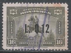 Honduras 1964. Scott #C349 (U) Statue Of Morazan * - Honduras