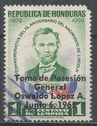 Honduras 1965. Scott #C356 (U) Inauguration Of General Oswaldo Lopez Arellano As President - Honduras
