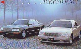 Télécarte JAPON * TOYOTA (1230) Phonecard JAPAN * VOITURE * Auto CAR * TELEFONKARTE * - Cars