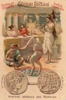 Chocolat POULAIN  Histoire Générale Des Monnaies  Athènes Périclès - Poulain