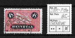 1923-1940 FLUGPOSTMARKEN → SBK-F8z, GENÈVE 26.XI.37 - Poste Aérienne