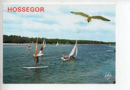 REF 280  : CPSM 40 HOSSEGOR Lac Et Voilier - Hossegor