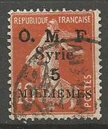SYRIE N° 28 OBL TB - Syria (1919-1945)