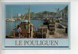 REF 280  : CPSM 44 Le Pouliguen Le Port - Le Pouliguen