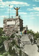 Valperga Canavese (Torino, Piemonte) Santuario Di Belmonte, Monumento A San Francesco (Scultore G. Vogliazzi, Vercelli) - Italia