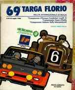X 69 TARGA FLORIO 1985 RALLYE INT.LE REGOLAMENTO DI GARA ITA FRA ING 50 PAG - Automobilismo - F1