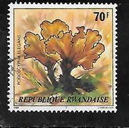 TIMBRE OBLITERE DU RWANDA DE 1980 N° MICHEL 1057 - Rwanda