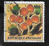 TIMBRE OBLITERE DU RWANDA DE 1980 N° MICHEL 1058 - Rwanda