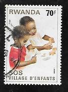 TIMBRE OBLITERE DU RWANDA DE 1981 N° MICHEL 1109 - Rwanda