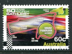 Australia 2012 50th Anniversary Of Bathurst Endurance Race - 60c Sheet Stamp Used - 2010-... Elizabeth II