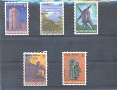 2254/2258 TOERISME  POSTFRIS** 1987 - België