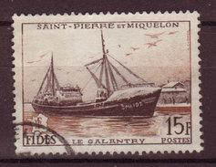 SPM - 1956 - YT N° 352 - Oblitéré - FIDES - St.Pierre & Miquelon