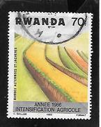 TIMBRE OBLITERE DU RWANDA DE 1986 N° MICHEL 1339 - Rwanda
