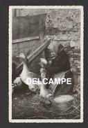 DD / 31 VILLEFRANCHE-LAURAGAIS / LA GAVEUSE D'OIES / CIRCULÉE EN 1958 - Autres Communes