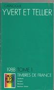 Catalogue Yvert & Tellier  France 1988 - France