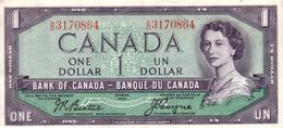 CANADA  1 Dollar  Non Daté (1955-1961)   Pick 74a   ***** QUALITE AUNC- ***** - Canada