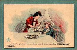 2 Chromos  -  Chocolat Ibled - Mondicourt  - Divers - Bill-549 - R/V - Ibled