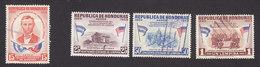 Honduras, Scott #C295-C298, Used, Sesquicentennial Of Lincoln, Issued 1959 - Honduras