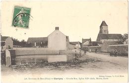 Dépt 60 - ÉTAVIGNY - Grande Rue, Église XIIè Siècle, Mairie, École - Autres Communes